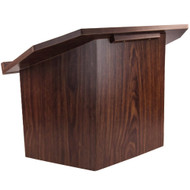 Advantage Walnut Folding Wood Lectern [TT-Lectern-Walnut]