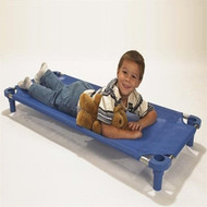 Mahar Blue Toddler Children's School Cots [550T]