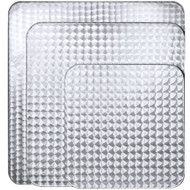 """BFM Seating Spectra 24""""x24"""" Stainless Steel Restaurant Table Top [PH2424]"""