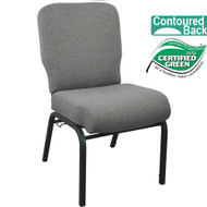 Advantage Signature Elite Fossil Church Chair [PCRCB-113] - 20 in. Wide