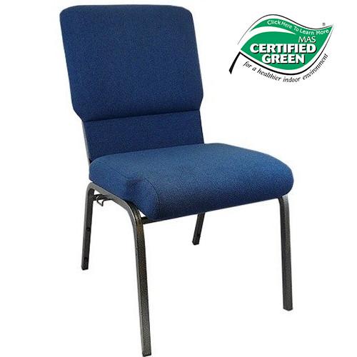 Image 1  sc 1 st  Classroom Essentials Online & Navy Blue 18.5 inch Church Chair   Classroom Essentials Online