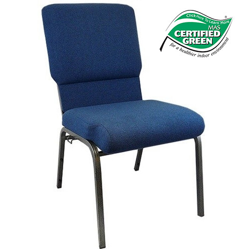 Image 1  sc 1 st  Classroom Essentials Online & Navy Blue 18.5 inch Church Chair | Classroom Essentials Online