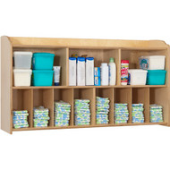 Foundations Serenity Natural Wall-Mounted Diaper Organizer [1772047]