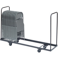 Correll Vertical Storage Folding Chair Cart [C1972]