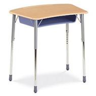 Virco ZUMA Adjustable Height Open Front Student Desk [ZADJ2031BOXM]