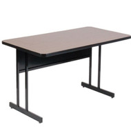 Correll 4 ft. Computer Table - Desk Height High Pressure Laminate Top [WS2448]