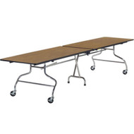 Virco 30x144-inch Rectangular Mobile Cafeteria Table [MT30144]