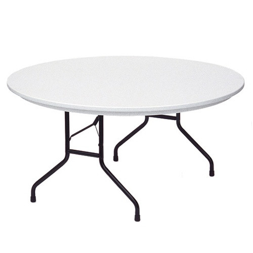 Correll R60 5 Ft Plastic Round Folding Tables For Sale At