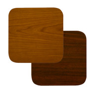 "BFM Seating 30""x30"" Laminate Restaurant Table Top - Cherry / Dark Mahogany Reversible [CM3030]"