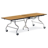 Virco 30x96-inch Rectangular Mobile Cafeteria Table [MT3096]