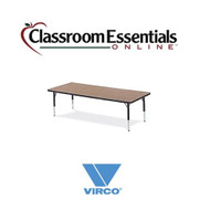 Virco Rectangular 30x72 Preschool Activity Table [483072LO]