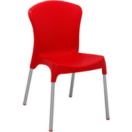 BFM Seating Lola Plastic Outdoor Restaurant Stack Chair [SA215]