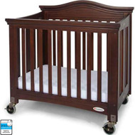 Foundations Royale Compact Wood Folding Crib With 4-in. Casters [1134852]
