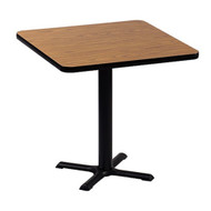 Correll BXT24S 24-in Square Cafe Table