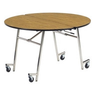 virco 48inch round mobile cafeteria table mt48r