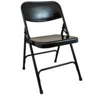 Advantage Black Metal Folding Chair [DPI903M-BLK]