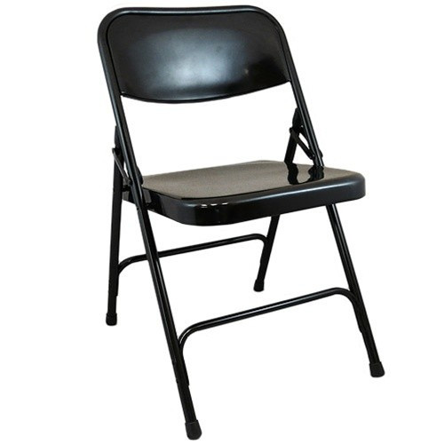 Black Metal Folding Chairs black metal folding chair | metal folding chairs | heavy-duty