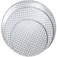 "BFM Seating Spectra 32"" Round Stainless Steel Restaurant Table Top [PH32R]"