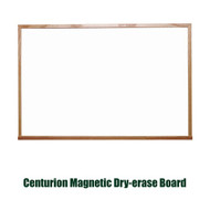Ghent 4'x4' Traditional Centurion Wood Frame Whiteboard [M1W-44-4]