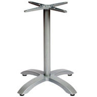 BFM Seating Bali 26x26-in. Bar & Restaurant Table Base [PHTB2626SV]
