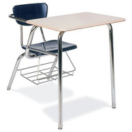 Virco Martest 21 Chair Desk (4-Leg) [3400BRM]