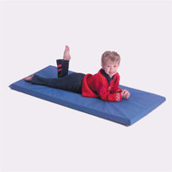 Mahar 1-Section Blue Standard School Rest Mats