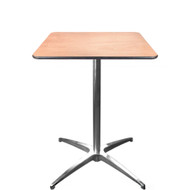 advantage 24inch square cocktail table cafet24s