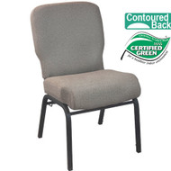 Advantage Signature Elite Tan Speckle Church Chair [PCRCB-122] - 20 in. Wide