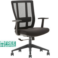 Black Mesh Office Chairs X3-55BT-1 | Office Furniture | Office Chairs For Sale