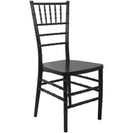 Black Monoblock Resin Chiavari Chair | Chiavari Chairs For Sale