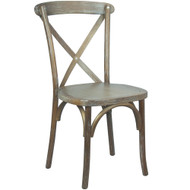 Advantage Medium With White Grain X-Back Chair [X-back-MEDWHT-EC]