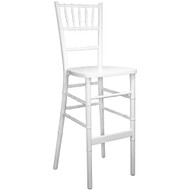 Advantage White Chiavari Bar Stools [WDCHIBAR-White]