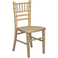 Advantage Kids Gold Wood Chiavari Chair [KID-WDCHI-Gold]