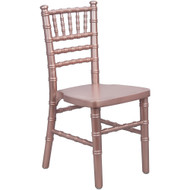 Advantage Kids Rose Gold Wood Chiavari Chair [KID-WDCHI-RoseGold]