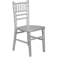 Advantage Kids Silver Wood Chiavari Chair [KID-WDCHI-Silver]