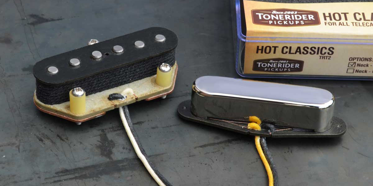 tonerider trt2 hot classic tele pickup set macdaddy music rh macdaddymusicstore com Tonerider City Limits Review Tonerider Pickup Review