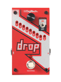 Digitech Drop Polyphonic Drop Tune Pitch Shifter pedal
