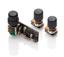 EMG BQS 3-Band EQ Active Bass Tone Control - 1x concentric pot