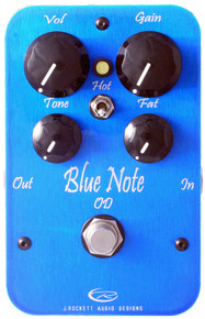 Rockett Pedals Blue Note Overdrive pedal