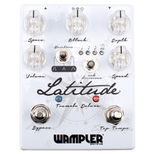 Wampler Pedals Latitude Tremolo Deluxe with tap tempo