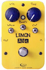 Rockett Pedals Lemon Aid Clean Boost pedal