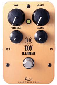 Rockett Pedals 10 Ton Hammer High Gain OD / Distortion pedal