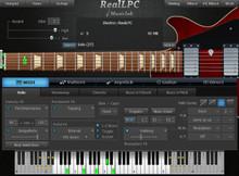 MusicLab RealLPC Les Paul Electric Guitar plug-in - download