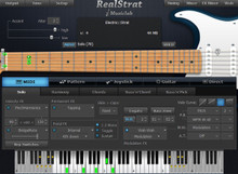MusicLab RealStrat Electric Guitar plug-in - download