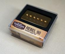 Tonerider Rebel 90 Humbucker Replacement P90 Bridge pickup - gold