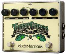 Electro-Harmonix Turnip Greens Multi-Effects pedal - Soul Food OD / Holy Grail Max Reverb