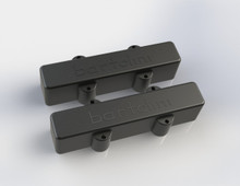 Bartolini 9J1 L/S Dual Coil Jazz Bass Pickup Set