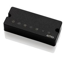 """EMG 57-7 Alnico V Active Seven String Bridge Humbucker - black 3.5"""" soapbar"""