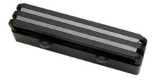 Lace Aluma J Jazz Bass Bridge pickup - black anodized