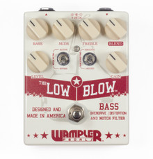 Wampler Pedals Low Blow Bass Overdrive / Distortion pedal